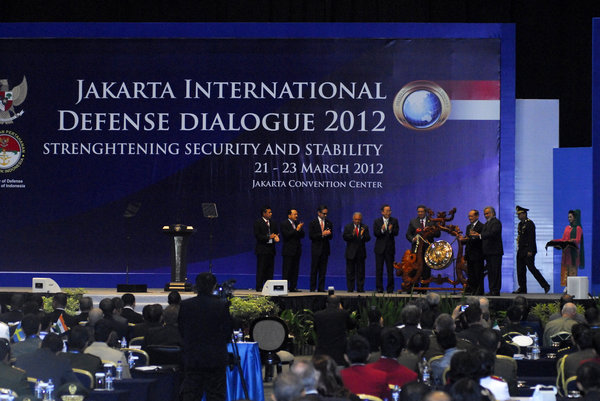 Address at the Jakarta International Defense Dialogue 2012 held last March 21 - 23, 2012 in Jakarta, Indonesia