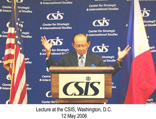 Lecture at the CSIS, Washington, D.C. 12 May 2006